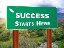 Success starts here