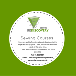 Delivering sewing courses to the absolute beginner or the budding fashionista.