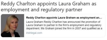 Laura graham reddy Charlton partner web